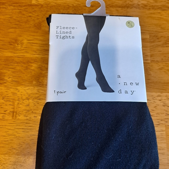 A new day Fleece lined tights M/L